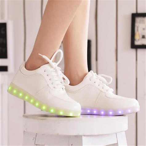 lighted shoes for led shoes for adults 2016 fashion led light shoes