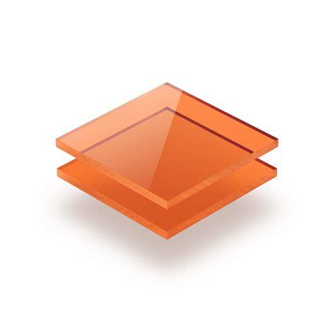 Pvc Glas Polijsten by Plexiglas Oranje 3 Mm Gratis Op Maat Gezaagd