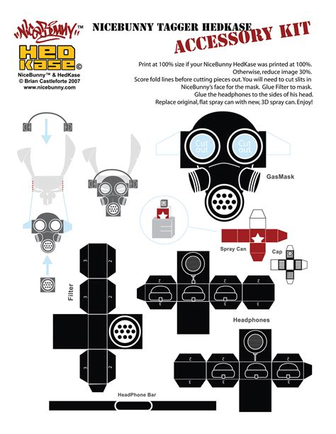 Papercraft Downloads - simple papercraft model templates for create