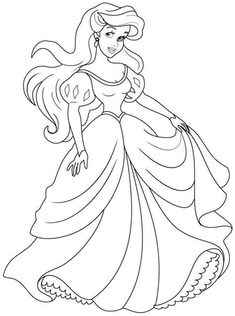 high quality printable coloring pages ariel coloring pages free to print high quality coloring