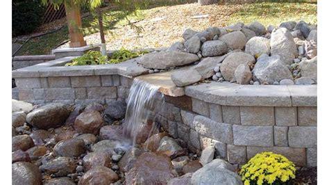 small garden retaining wall