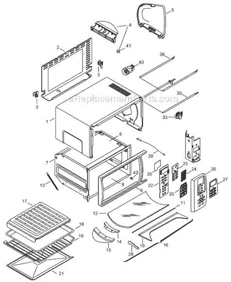 Delonghi Toaster Oven Replacement Parts Delonghi Xd639 Parts List And Diagram Ereplacementparts Com