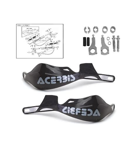 Handguard Acerbiz Rally Pro Import acerbis handguards rally pro pilote production 0032 0