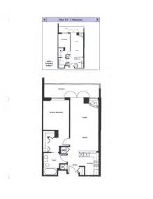 Bed Floor Plan by Discovery Floor Plan E1 1 Bedroom