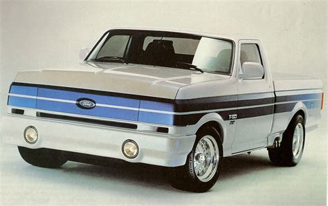 concept ford truck 1990 ford f 150 concept pick up