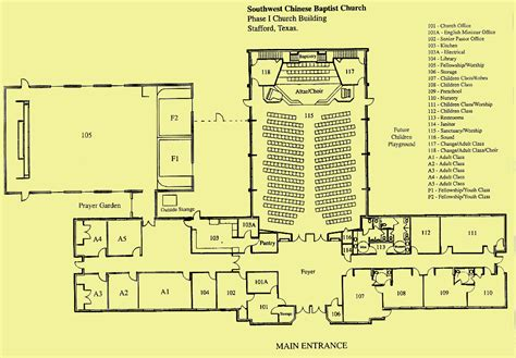church building floor plans swcbc phase i church building floor plan
