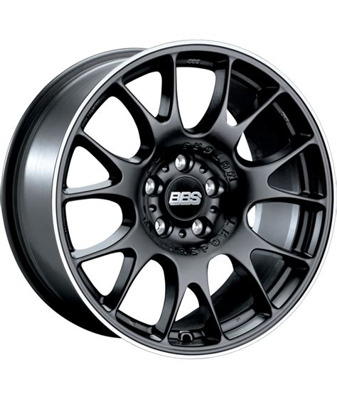 bbs matte black bbs ch 18x8 5 5x98 matte black with stainless steel