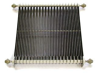 grid resistors service grid made with stainless steel to form a continuous low inductance resistance path