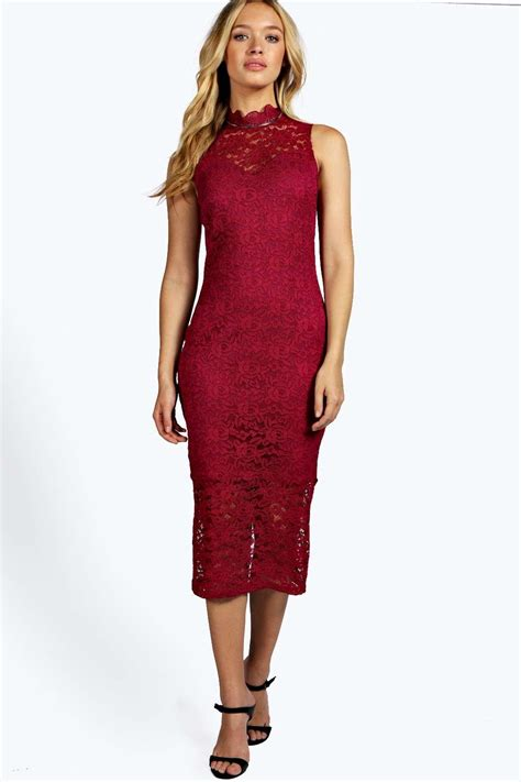 Sleeveless Mini Midi Dress boohoo womens clare lace high neck bodycon midi dress