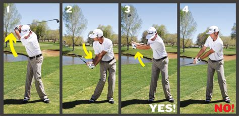 no hands golf swing iron play simplified golf tips magazine