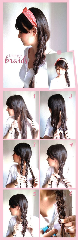 cute hairstyles braids tutorial 20 cute and easy braided hairstyle tutorials
