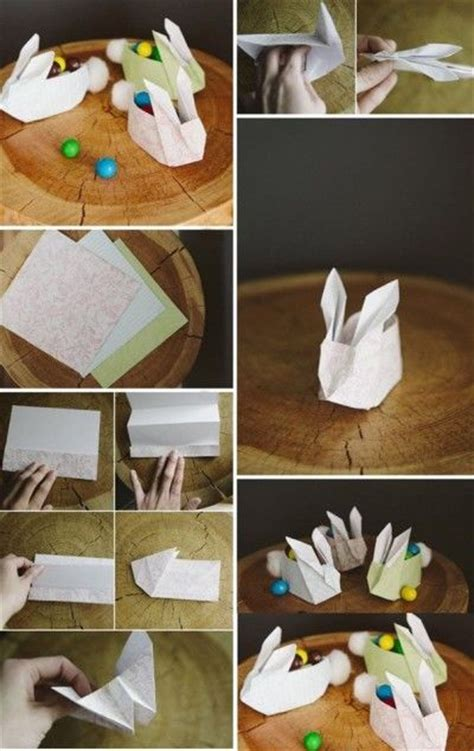 How To Make A Origami Easter Bunny - easter bunny origami pictures photos and images for