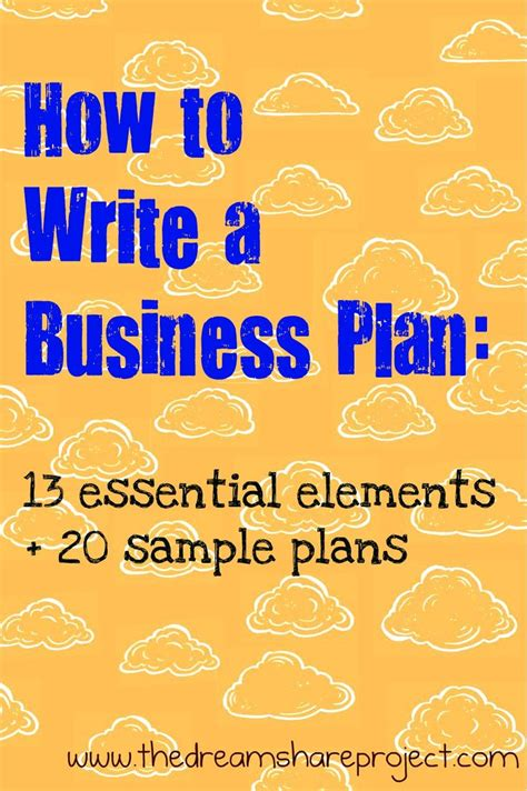 best 25 sle business plan ideas on