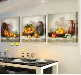kitchen wall decor 3 panels paintings for the kitchen fruit wall decor modern