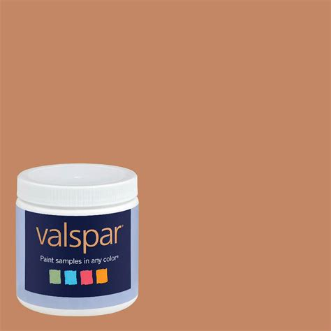 shop valspar 8 oz gleaming interior satin paint sle at lowes