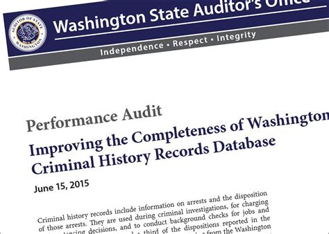 Criminal Record Check Washington State Enforcement Database To Stalk