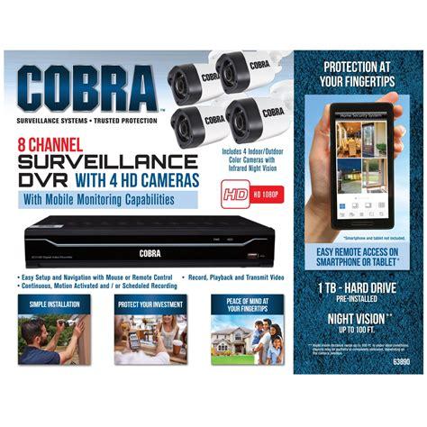 mobile surveillance 8 channel security system