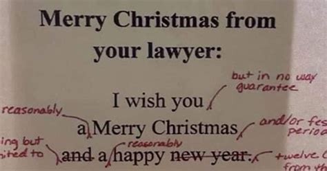 heres  lawyers  merry christmas   clients   hilarious