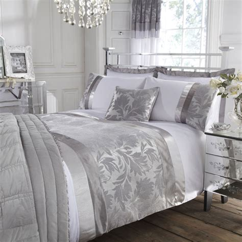 silver and white bedroom modern furniture luxury modern bedding design 2011 collection