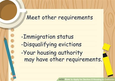 requirements to apply for section 8 how to apply for section 8 housing in california find
