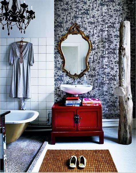 Bohemian Style Bathroom by 15 Attractive Bohemian Bathrooms Ideas