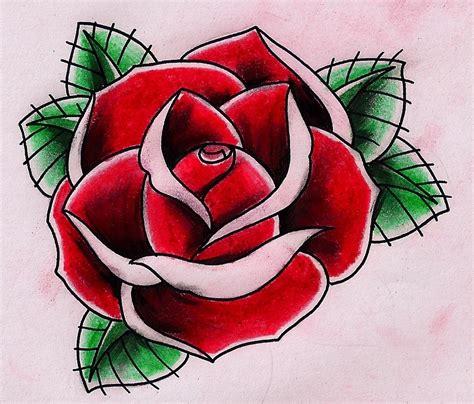 tattoo flash rose gensther tattoo tattoo image by patrick fox