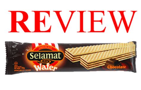 Wafer Nabati Rasa Cokelat 145gr review jajan murah chocolate selamat wafer