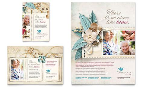 Hospice & Home Care Brochure Template Design
