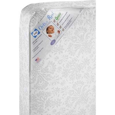 Sealy Ortho Rest Crib Mattress 187 Sealy Ortho Rest Crib Toddler Bed Mattress Comfortable Sleep For Your Infant Or Child