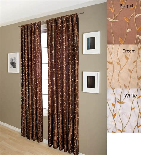 overstock curtain panels autumn 84 inch faux silk taffeta lined curtain panel