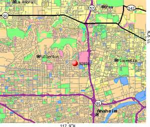 map of fullerton california 92831 zip code fullerton california profile homes