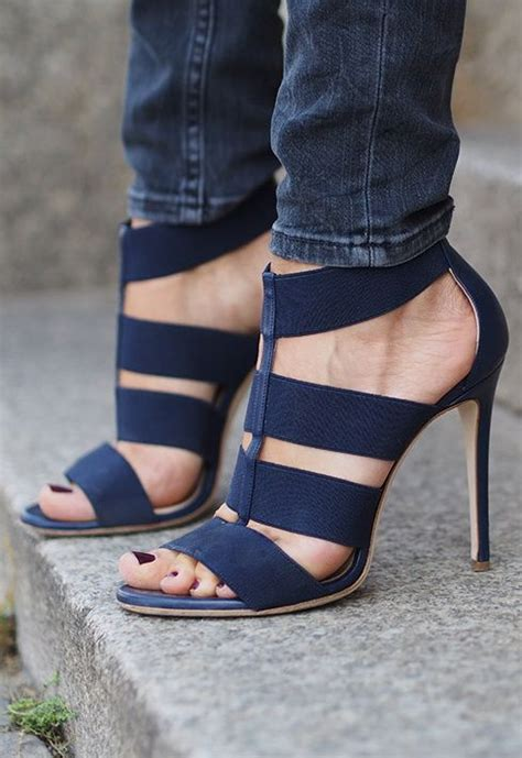 Strappy Heels Chanel Import Premium deimille heels shoes trends shoes fashion