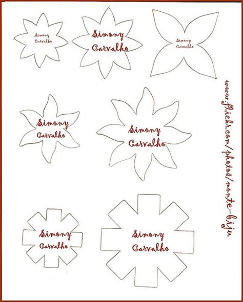 flower pattern for preschool printable flower patterns flower craft project ideas