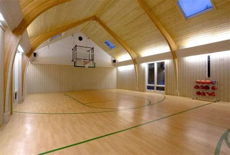 basement basketball court ballin indoor basketball courts for march madness freaks curbed