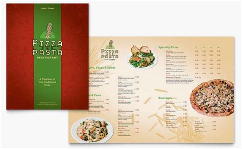 free restaurant menu templates for microsoft word how to make a menu calendar template 2016