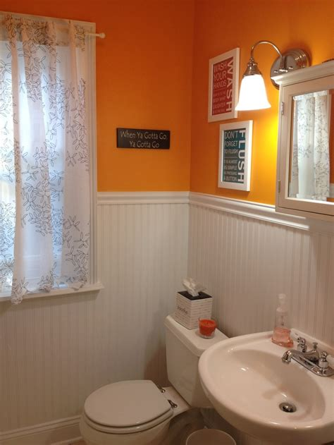 orange powder room 19 curated bathroom project ideas by ag0911 finding nemo