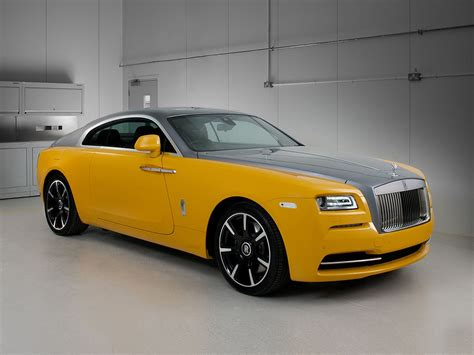 yellow rolls royce great rolls royce introduces bespoke wraith in one of a kind