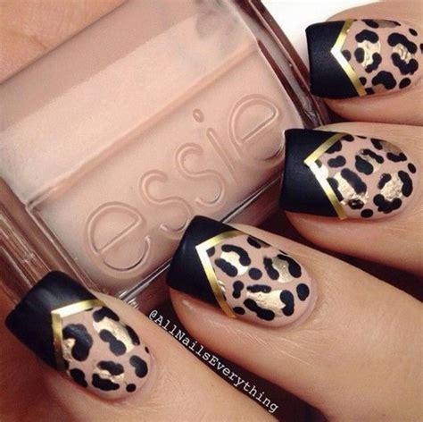 imagenes de uñas animal print 2015 modne paznokcie jesień 2016 kobietamag pl