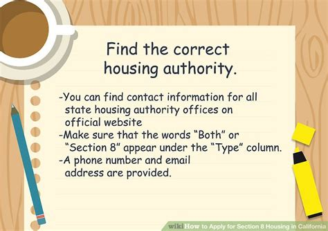 phone number for section 8 housing how to apply for section 8 housing in california