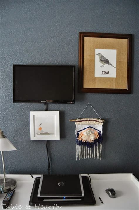 ways to mount a tv little office gallery wall table and hearth