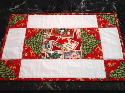 pattern christmas placemats 18 best images about quilts placemats on pinterest quilt