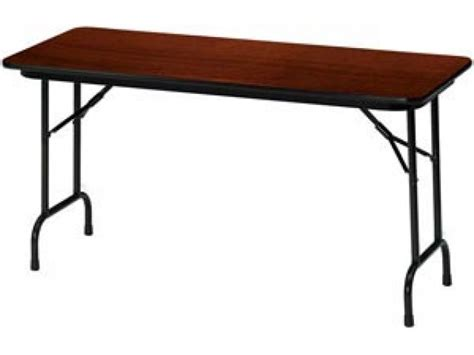 Folding Table Top by Laminate Top Rectangular Folding Table 72 Quot X18 Quot Folding Tables