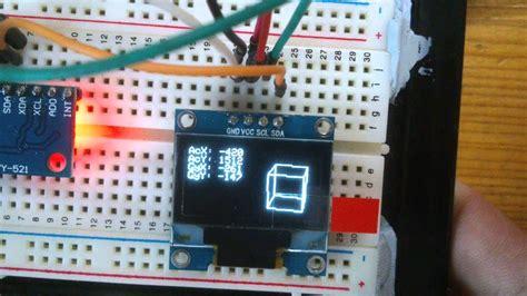 arduino project mpu  display youtube