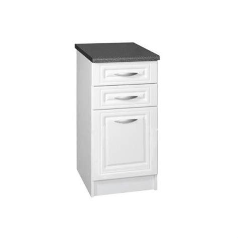 meuble bas cuisine 50 cm meuble bas de cuisine dina 50 cm 3 tiroirs moulures mdf