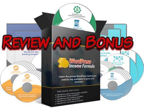 Plr Exclusive Marketing best wp income formula plr firesale review and bonus