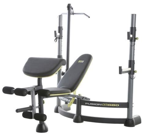 proform bench multi gym weight bench proform g680 all in one for sale in