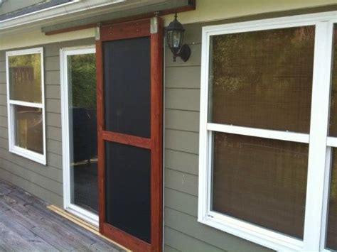 24 Wood Screen Door by Best 25 Screen Doors Ideas On Wood Screen