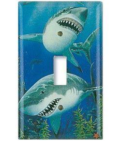 shark themed bathroom trend alert shark week d 233 cor makes a splash