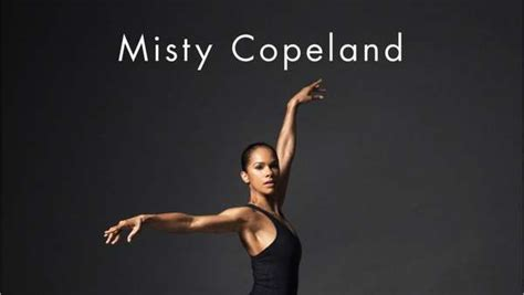 misty copeland book misty copeland s new book one news page video