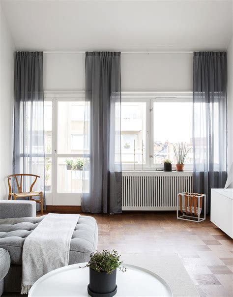 upgrade white curtains beautiful soft grey accents parquet flooring and mainly